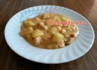 Krompir paprikaš sa pilećim belim mesom