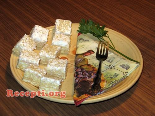Slana torta sa oblatnama
